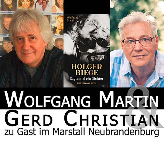 Lesung Buchvorstellung Holger Biege