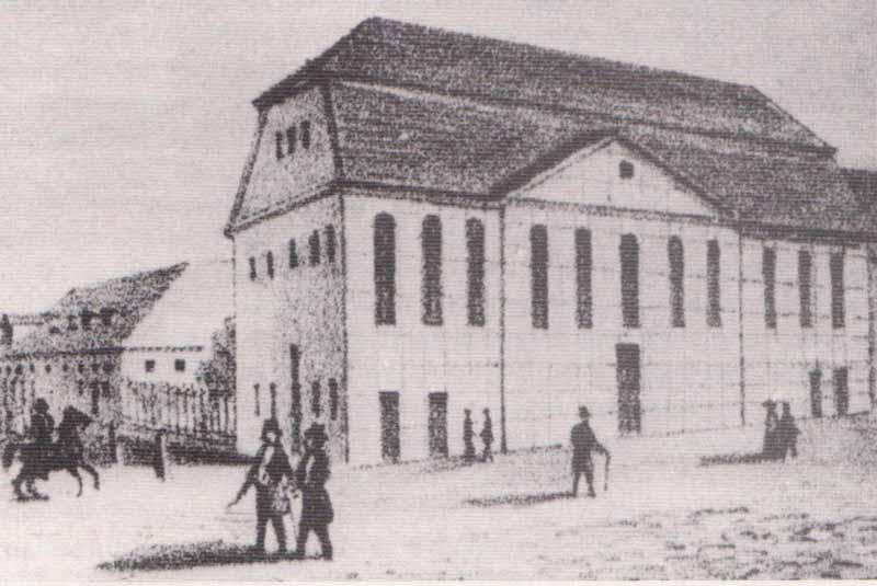 Marstall Neubrandenburg um 1800