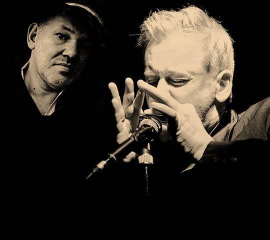 Blues-Konzert im Marstall Neubrandenburg mit Georg Schroeter und Marc Breitenfelder