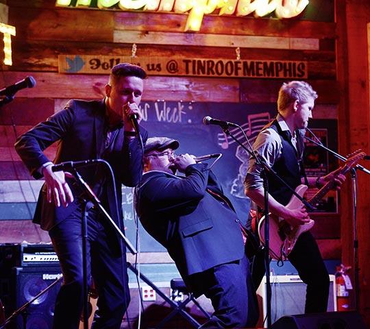 Chris Kramer & the Beatbox'n'Blues im Konzert im Marstall Neubrandenburg