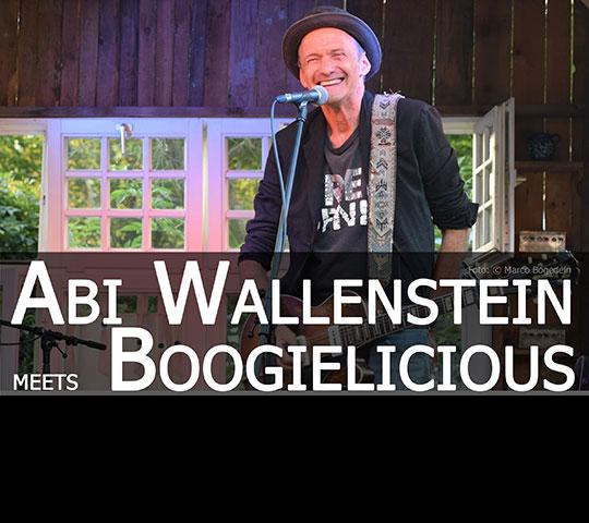 Live-Konzert mit Abi Wallenstein meets Boogielicious im Marstall Neubrandenburg.